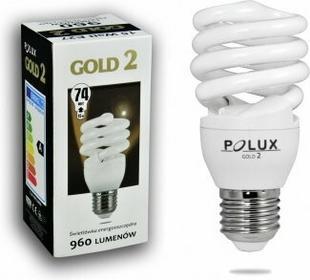 Polux świetlówka energooszczędna GOLD 2 mini 15W E27 SE9672