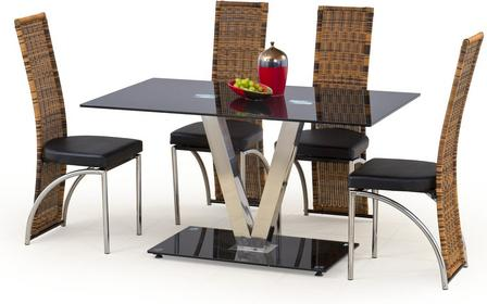 Halmar Stół Velvet + krzesła K80