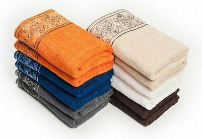 Euromat Ręcznik bawełniany Ottoman 50x90 cm kolory
