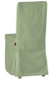 Dekoria Sukienka na krzesło Bertil bez wiązań Quadro 136-33