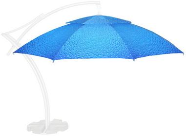 LITEX Promo Sp. z o.o. Poszycie parasola ogrodowego Ibiza 4,2m Bąbelki Niebieski
