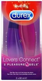Durex Lovers Connect 2x60 ml