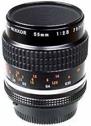 Nikon MF 55mm f/2.8 Micro