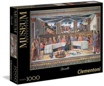Clementoni Puzzle Museum Collection Rosselli The Last Supper 1000