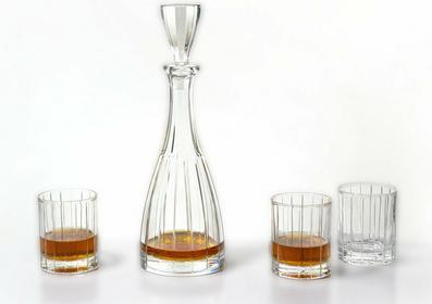 Bohemia Karafka i Szklanki do whisky Caren Jihlava