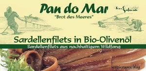 Pan Do Mar Anchois (sardele) w BIO oliwie z oliwek 50g