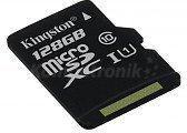 Kingston MicroSDXC class 10 ( bez adaptera ) 128GB