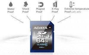 A-Data SDXC UHS-1 Class 10 64GB