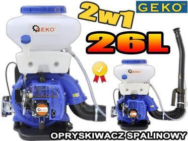 geko OPRYSKIWACZ SPALINOWY TURBINOWY 26L