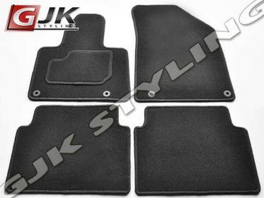 GJK Styling Dywaniki welurowe czarne standard Citroen C5 od 2008 CITROEN C5 08-