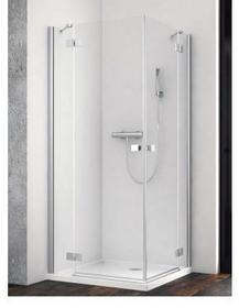 Radaway Essenza New KDD 90 90x90 lewa szkło przejrzyste 385060-01-01L
