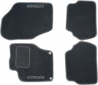 MotoHobby Dywaniki samochodowe CITROEN DS4 - CITROEN DS4 Komplet dywaników MOTOL