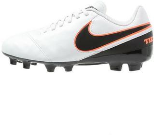 Nike Performance TIEMPO LEGEND VI FG Korki Lanki pure platinum/black/hyper orang