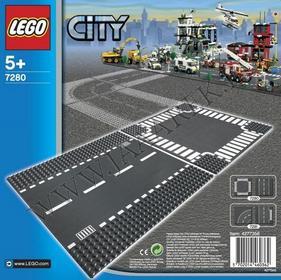 LEGO CITY Ulice - odcinek prosty 7280