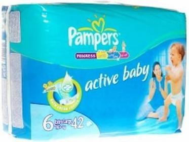 Pampers Active Baby 6 Extra Large 42 szt.