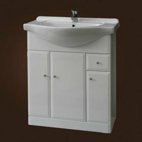 Deftrans Szafka pod umywalkę stojąca 700 x 805 Armando D75 001-D-07501 biały wy