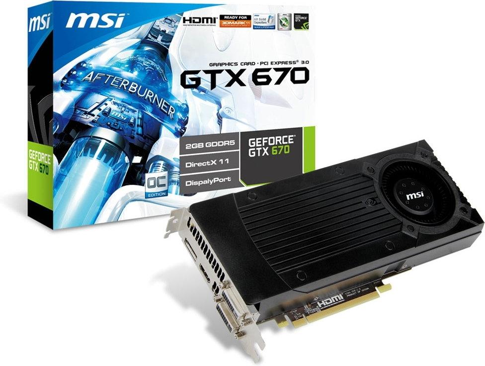 MSI N670GTX-PM2D2GD5/OC