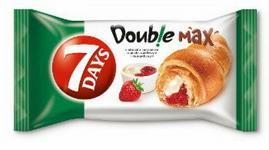 7Days DOUBLE WANILIOWO TRUSKAWKOWE 80G