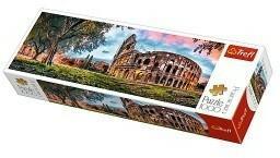 Trefl Puzzle 29030 Panorama Koloseum o poranku 1000 elementów)