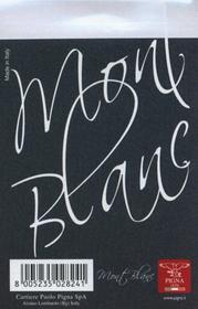 Notes 8x12 Mont Blanc w kratkę 70 kartek