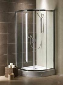 Radaway Premium Plus A 100x100 szkło przejrzyste