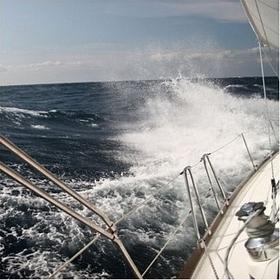 Na morzu - Obraz, reprodukcja