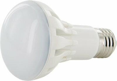 Whitenergy Żarówka LED Reflektor R63 11xSMD 3030 6W E27 ciepłe białe mleczne 08883