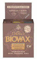 LBiotica BIOVAX Maseczka intensywnie regenerująca Argan+Makadamia+Kokos 500ml
