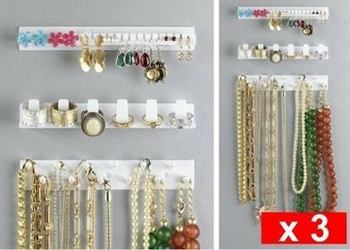 Wenko Organizer na biżuterię - 3 sztuki w komplecie