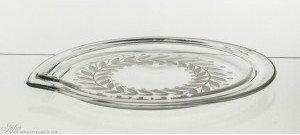 Crystaljulia Talerz Kryształ na ciasto przystawki 33 cm - 3295 1882