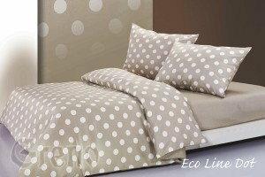 Greno Pościel Satynowa XQ 160x200 Eco Line Dot E771-336F1_20121118010453
