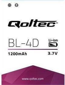 Qoltec Bateria do smartfona Nokia N97 MINI BL-4D, 1200mAh 7872.N97
