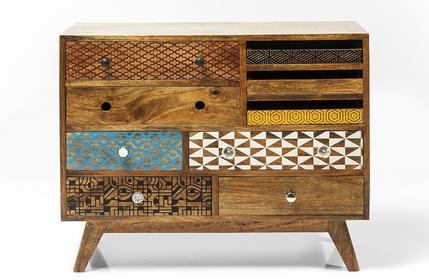 Kare Design Komoda Kredens Soleil 9szuflad