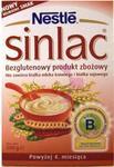 Nestle Sinlac Kaszka bezglutenowa dla alergików 500g