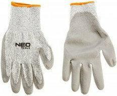 NEO-TOOLS TOOLS Rękawice antyprzecięciowe, pokryte PU, poziom ochrony przed przecięcie