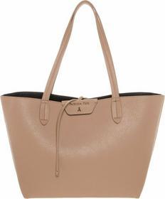 Patrizia Pepe torba na zakupy beige/black 2V5452 AV63