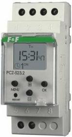 F&F PCZ-523.1 ZEGAR STERUJĄCY IMPULSOWY (szkolny)