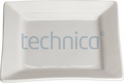 Stalgast Talerz płytki kwadratowy 150 mm | , Elegantia STALGAST-397017