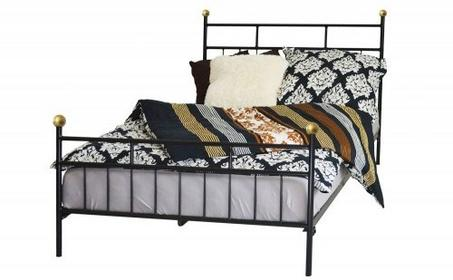 Grupa Lak System | Łóżka metalowe Łóżko sypialniane 120x200 WZÓR 27 12020027