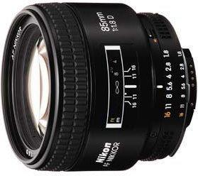 Nikon AF 85 f/1.8D