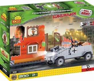 Cobi SMALL ARMY 5511 Powstanie Warszawskie - Kübelwagen