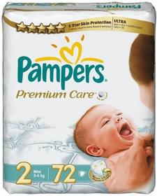 Pampers Premium Care 1 Newborn + 2 Mini 72 szt.