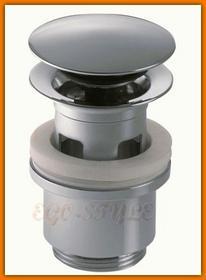 KFA korek automatyczny click-clack chrom 660-254-00-BL