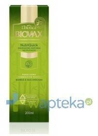 Lbiotica BIOVAX odżywka bez spłukiwania Bambus Olej Avocado 200ml