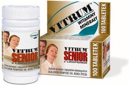 Unipharm Vitrum Senior z likopenem 30 szt.