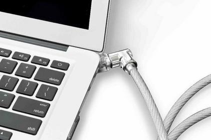MacLocks Oryginalna obudowa z linką zabezpieczającą przed kradzieżą Lock and Sec