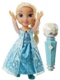 JAKKS Frozen Śpiewająca Elsa z mikrofonem