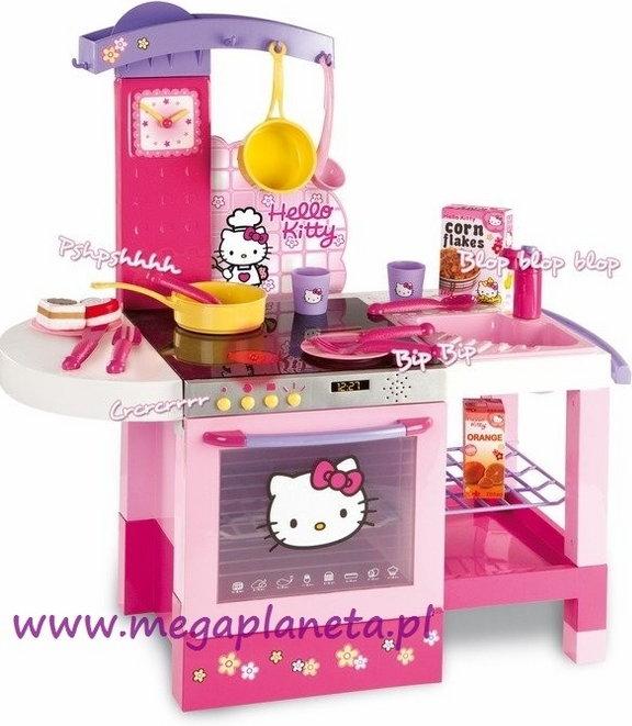Smoby Kuchnia elektroniczna Cheftronic Hello Kitty 24573 – znajdź podobny pro