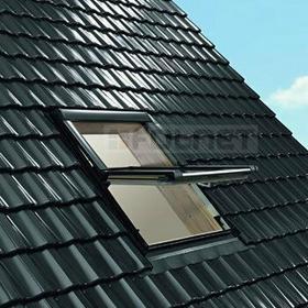 Roto oknadachowe Okno dachowe Designo R69G K WD, pakiet niskoemisyjny 3-szybowy