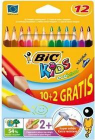 Bic Kredki Kids Evolution Triangle 12 kolorów 3086123214842